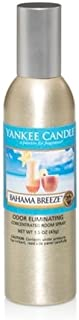 Yankee Candle Flameless Fragrance, Concentrated Room Spray, Bahama Breeze, Spring, 1.5 oz