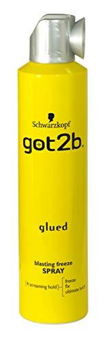 SCHWARZKOPF GOT2B GLUED BLASTING FREEZE SPRAY 300ML X3