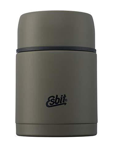 Esbit Thermobehälter | Edelstahl Isolierbehälter | BPA-Frei | Schwarz & Oliv | 1L & mehr | warme & kalte Speisen, Lunch ES87 Olivgrün