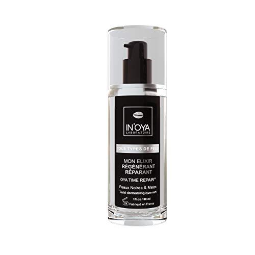 Mon Elixir « Régénérant et Réparant » – Peaux noires et mates – Soin de nuit hydratant pour le visage – Serum à l'acide hyaluronique – Crème hydratante visage anti-rides - 98% d'actifs naturel – 30 ML