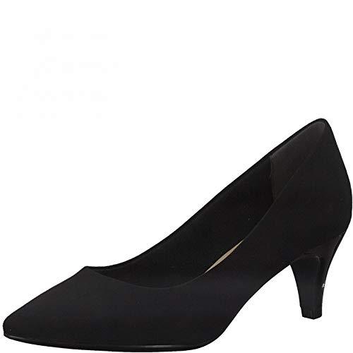 Tamaris Damen Klassische Pumps, Frauen Pumps,Touch It-Fußbett,weiblich,Ladies,Women's,Woman,Court,Shoes,Absatzschuhe,Lady,Black,40 EU / 6.5 UK