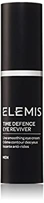 Elemis Time Defence Eye Reviver, Anti-Ageing Eye Cream for Men, 15 ml by Elemis