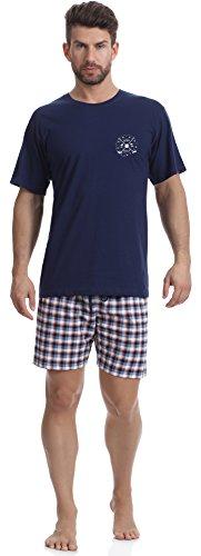 Timone Pijama Conjunto Camisetas y Pantalones Cortos Vestidos de Casa Hombre TI30-108