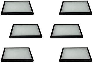 South Star 6 بسته موارد Riker نمایش موارد 8 12 12 3 3/4 برای جواهرات کلکسیونی Arrowheads یادگاری