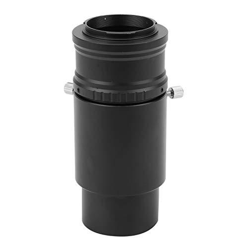 Adaptador de telescopio, Tubo de extensión de Ocular de 2 Pulgadas y 60 mm, Anillo Adaptador T2-EOS.M para telescopio astronómico con Montura T2 a cámara sin Espejo con Montura EOS.M de para Canon