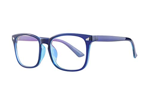 MEDOLONG Rectangle Frame Unisex Progressive Multifocal Lesebrille Anti Blue Light Lens Frame-MF8068