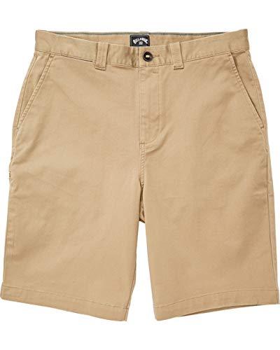 BILLABONG Carter Shorts, Hombre, Dark Khaki, 31