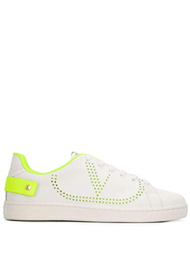 Luxury Fashion | Valentino Dames TW2S0M20MSS15K Wit Leer Sneakers | Lente-zomer 20