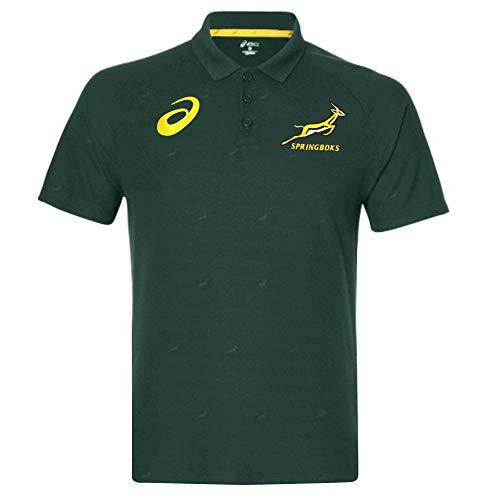 Springboks ASICS Poloshirt/Rugby-Weltmeisterschaft Südafrika M grün