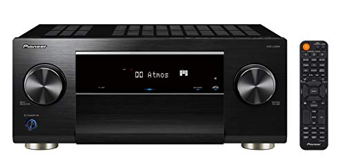 Pioneer VSX-LX504(B) 9.2 AV Receiver (215 W/Kanal, 4K UltraHD Durchleitung, Dolby Atmos, DTS:X, WLAN, Bluetooth, Hi-Res Audio, Streaming, AirPlay 2, Musik Apps, Internet Radio, Multiroom), Schwarz