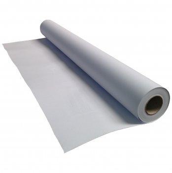 (0,71€/m²) Plotterpapier 1 Rolle | 90g/m², 91,4cm (914mm) breit, 50m lang, CAD, transparent