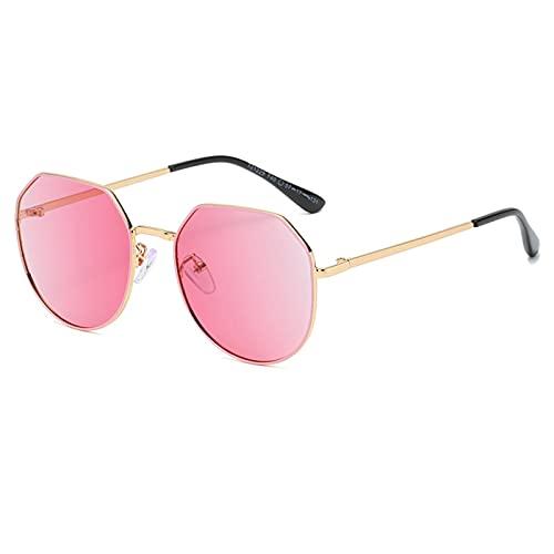 RSHJD - Gafas de sol polarizadas para niños de 5 a 10 años, color rosa y talla única