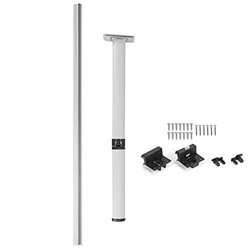 Yctze - Soporte para patas de mesa plegable, soporte desmontable, aleación de...