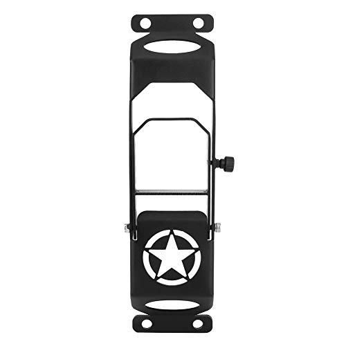 Outbit Escalón Superior del Techo del Coche Universal - Accesorio de Escalera de Mano Negro Compatible con Jeep Wrangler JL
