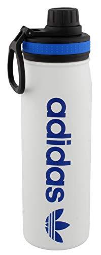 adidas Originals 18/8 - Botella de acero inoxidable con aislamiento térmico en frío y calor, 600 ml