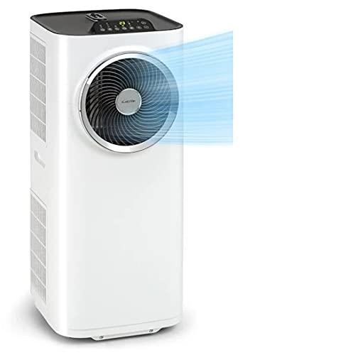 Klarstein Kraftwerk Smart - Mobile Klimaanlage, 3-in-1: Kühlung, Entfeuchtung, Ventilation, Energieeffizienzklasse A, WiFi: Steuerung per App, 10.000 BTU / 2,9 kW, Raumgröße: 29 bis 49 m², weiß