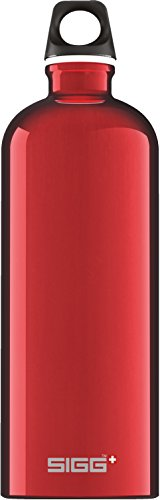 Sigg Trinkflasche Traveller, Red, 1.0 l