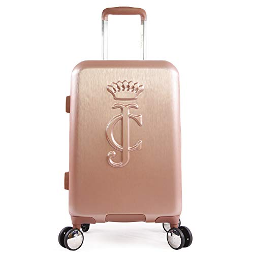 Juicy Couture Women's Duchess 21' Spinner, Rose Gold