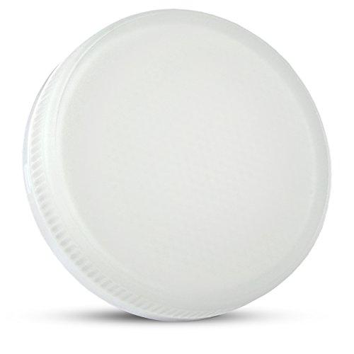 SSC-LUXon LED GX53 Leuchtmittel Strahler mit 5,5W, warmweiß, 120° Abstrahlwinkel, 230V