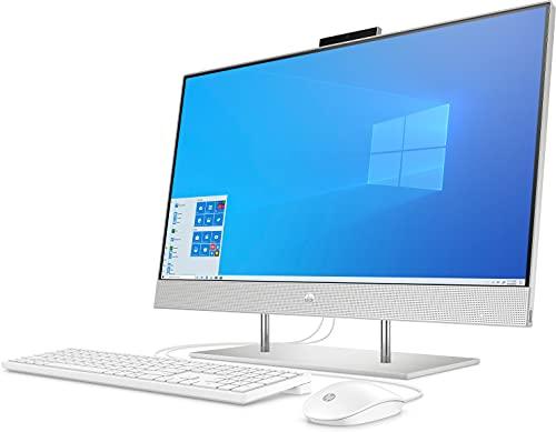 HP 27-dp0001ng (27 Zoll /FHD) All-in-One PC (AMD Ryzen 3 4300U, 8GB DDR4, 512GB SSD, AMD Grafik, Windows 10 Home) silber