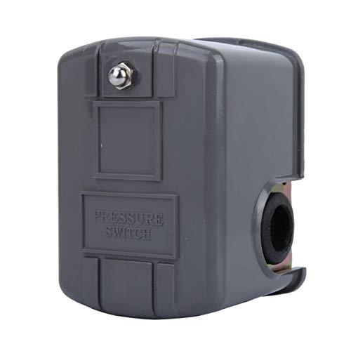 Interruptor de presión ZG1 / 4'Rosca 0.8-1.6 Bar Interruptor de control de presión de la bomba de agua Controlador de interruptor 110-230V para sistemas de bombeo para jardín