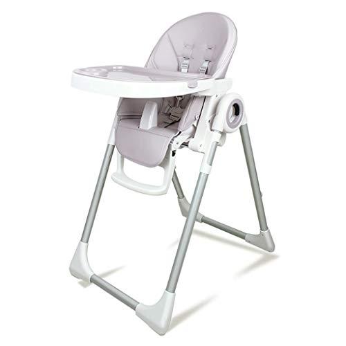 Graco Hoge stoel Kindereettafel, Draagbare Baby Hoge Stoel Opvouwbare en Verstelbare Kinderstoel, converteerbaar naar Junior Stoel (grijs)