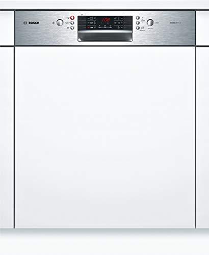 Bosch SMI46GS01E Serie 4 Geschirrspüler Teilintegriert / A++ / 60 cm / Edelstahl / 258 kWh/Jahr / 12 MGD / SuperSilence / Extra Trocknen / VarioBesteckkorb
