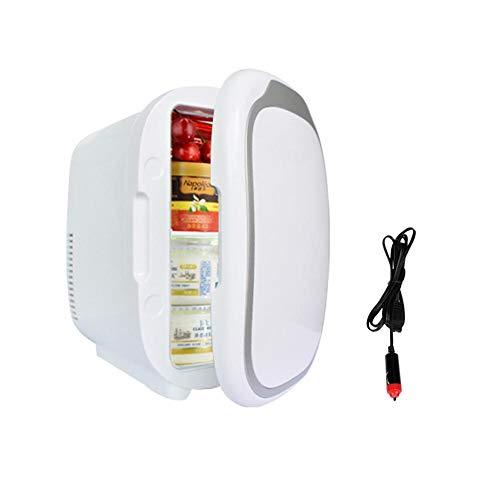 Sue-Supply Mini Frigorífico con Congelador, Minibar Pequeño, 6 litros, Temperatura Ajustable, Mini...