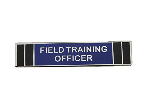 Field Training Officer FTO Police Citation Merit Award Commendation Bar Pin