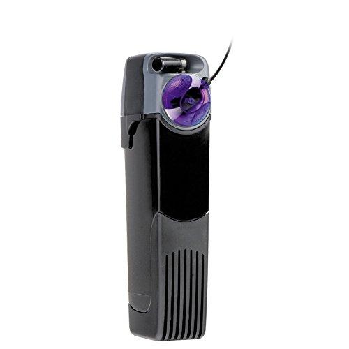 Unifilter UV Power 500 -Filtro interno para acuario, a 500 litros/hora, con esterilizador UV LED