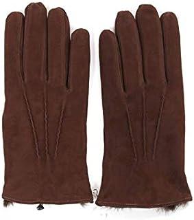 [アルポ] スエード グローブ ダークブラウン 手袋 メンズ AP182UA SUEDE LAPIN TABACCO 裏地ラピッドファー
