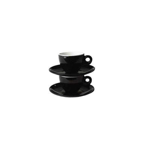 Gimex Campingbedarf Espresso 2-er Set Quadrato, 30310