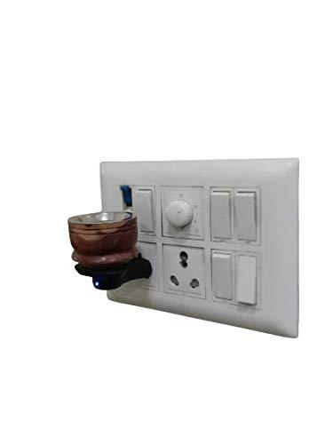Electroma KapoorDani - Electric Incense Burner from VK Tech (Brown) (Wood) (2)
