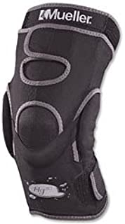 Mueller Hg80 Hinged Knee Brace, Black, Extra Large