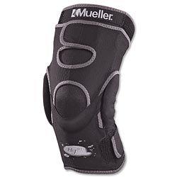 Mueller Hg80 Hinged Knee Brace Black