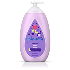 27.1-fluid ounces of Johnson's Moisturizing Bedtime Baby Lotion with special aromatic blend that helps to soothe your baby and leave your little one's skin feeling touchably soft, smooth and nourished This night time baby body lotion is made with Nat...