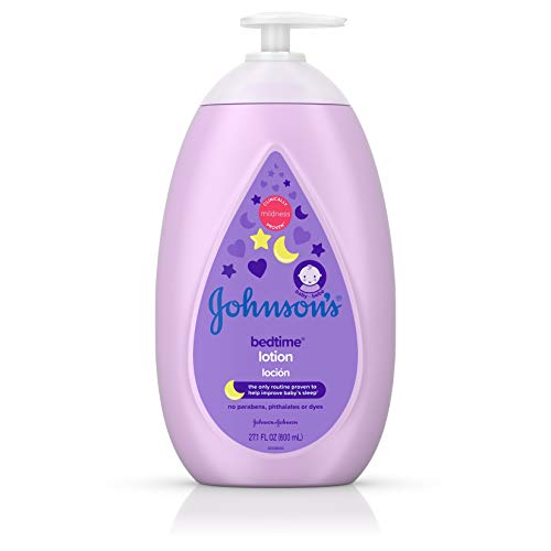 Johnson's Moisturizing Bedtime Baby Lotion...