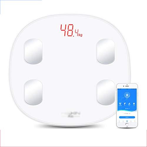 Weegschaal gewicht meter impedantie meter lichaamsvetweegschaal USB oplaadbare digitale badkamer draadloos geschenk 180kg Precision