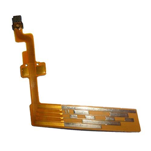 Persdico Piezas de reparación para Canon EF-S 18-55 mm F3.5-5.6 IS 18-55 II Cable Flexible de Cepillo eléctrico de Enfoque de Lente La Segunda generación...