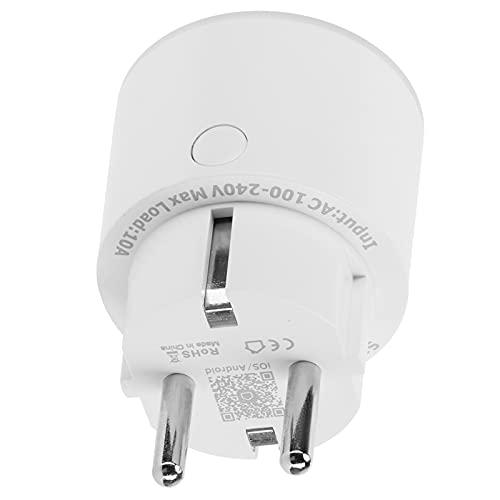 Enchufe remoto, enchufe WiFi Función de control remoto Control de voz para sus electrodomésticos para la familia