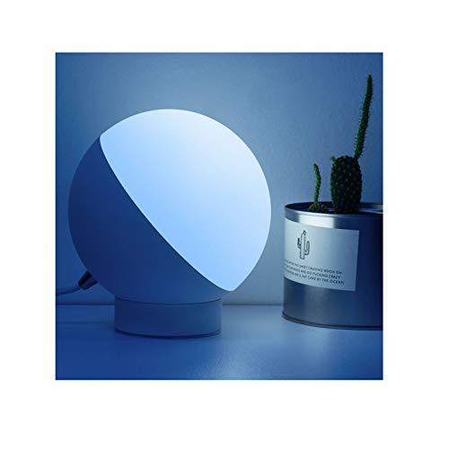 AKKY Lámpara Escritorio LED,7W Regulable Lampara de Mesa,lampara tactil,Cuidado a Ojos,Control Táctil y Temporizador,para Leer,Estudiar