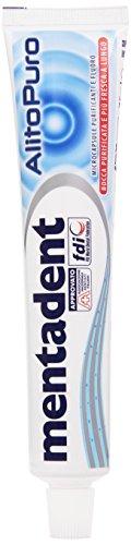 Mentadent - Dentifricio Alito Puro, Microcapsule Purificanti e Fluoro, Bocca Purificate e Più Fresca a Lungo - 75 ml