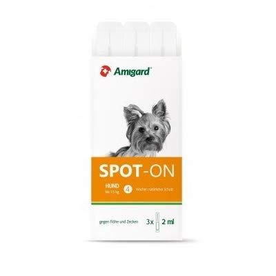 Amigard Spot-On Hund bis 15 kg 3X 2 ml