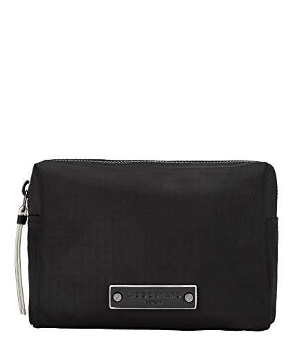 Liebeskind Berlin Monterey Cosmetic Pouch Taschenorganizer, Small (12 cm x 19 cm x 9cm), black