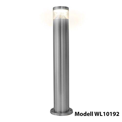 Grafner® Edelstahl LED Leuchte Standleuchte Weglampe Lampe Gartenleuchte 887