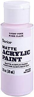 Darice Matte Light Pink, 2 Ounces Acrylic Paint,