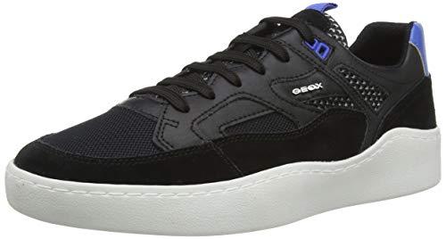 Geox U Colbyn A, Zapatillas para Hombre, Negro (Black C9999), 46 EU