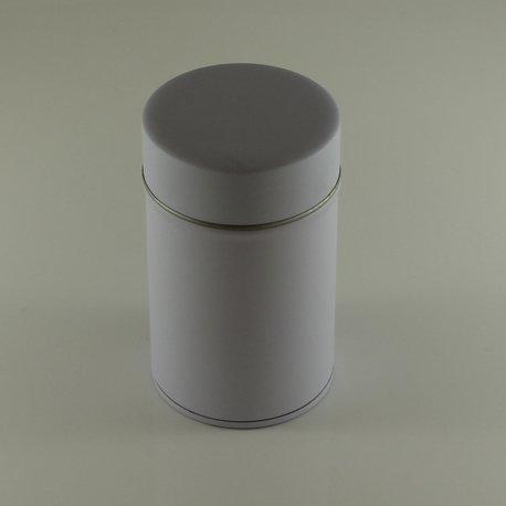 Boîte à Thé Vrac Double Couvercle (Blanc)