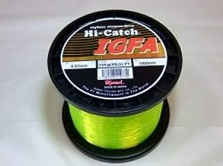Hi-Catch I.G.F.A ナイロンライン50lb 1000m イエロー