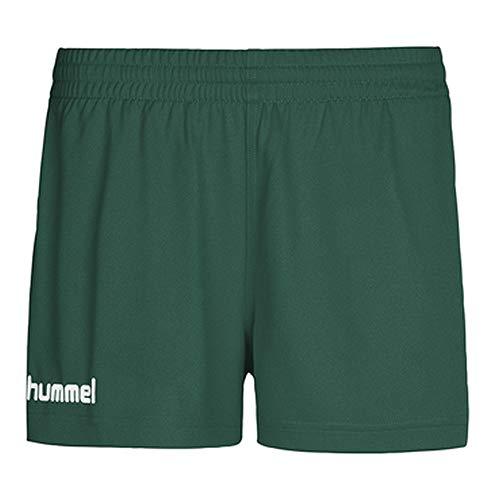 Hummel Damen Shorts Core S, grün(evergreen), S, 11-086-6140